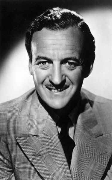 DAVID NIVEN British film actor Date: 1909