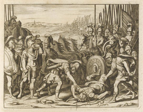 Antiochus IV, Seleucid emperor, is killed fighting the Maccabees - seen by the Jews as a punishment from God for ill-treating the Chosen People