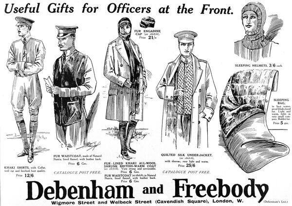 Debenham and Freebody advertisement