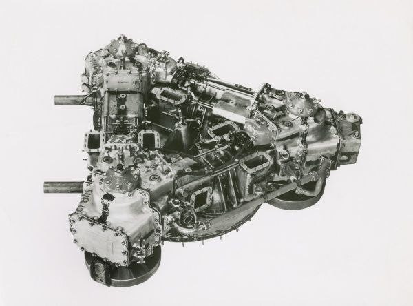 Deltic E130 3T engine, three cylinder single bank test unit Date