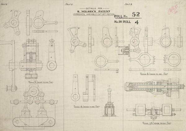 Details for R Wilson's patent improved variable cut off motion Date