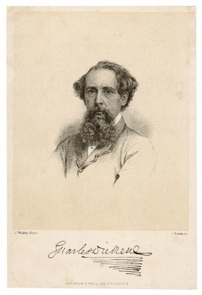 CHARLES DICKENS - English writer
