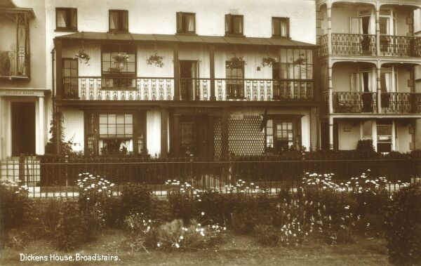 Charles Dicken's House - Broadstairs Date: circa 1920s