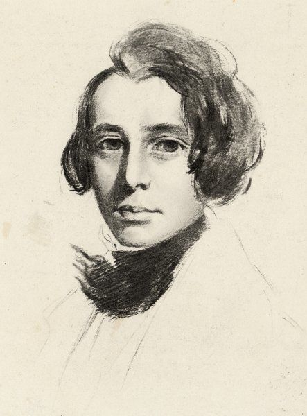 CHARLES DICKENS Dickens as a young man, c1836