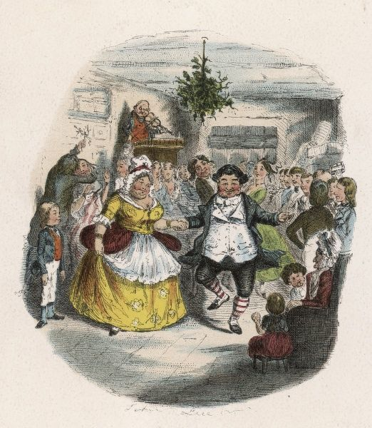 Mrs Fezziwig's Ball - shown to Scrooge by the Ghost of Christmas Past