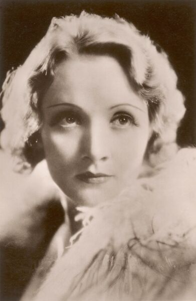 MARLENE DIETRICH German film actress