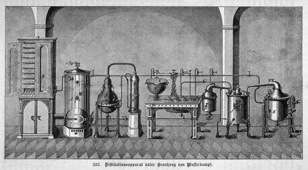 Steam Distillation Apparatus