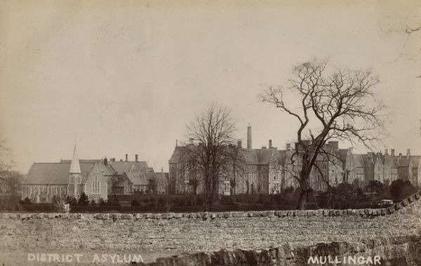 A view of the District Lunatic Asylum at Mullingar, County Westmeath, Ireland