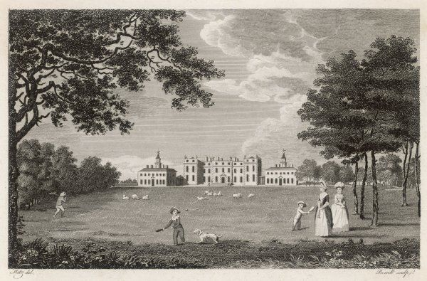 Ditchley, Oxfordshire: seat of the Right Honourable Mr Dillon Lee