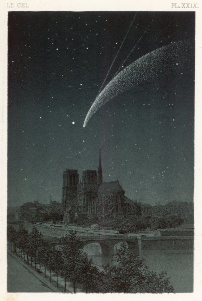 Donati's Comet observed over Paris
