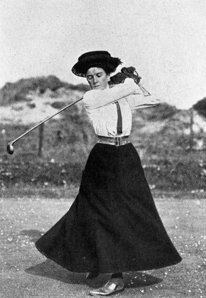 Dorothy Iona Campbell (1883 - 1945), the first internationally dominant female golfer. Also known as Dorothy Hurd and Dorothy Howe. Won over 700 titles during her career. Died in a railway accident when she failed to notice an oncoming train