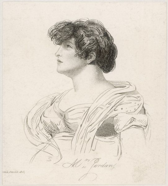 nee Bland ; Actress, and mistress to the duke of Clarence (who became William IV)