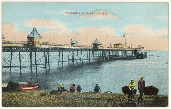 The Promenade Pier, seen from the beach