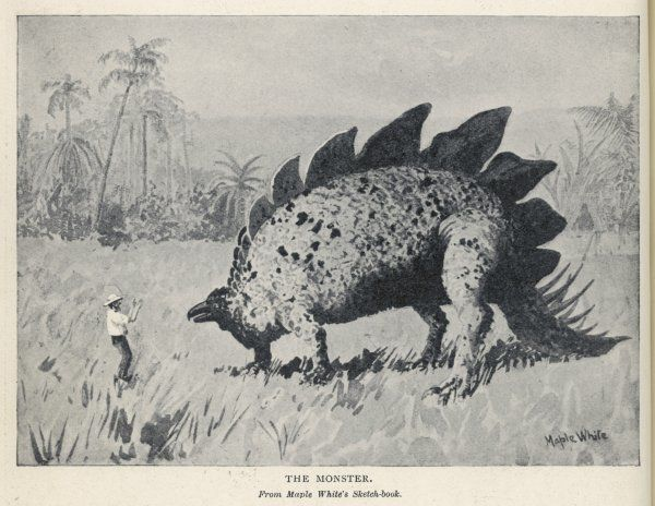 The 'monster', encountered by the expedition