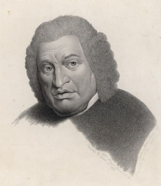 DR SAMUEL JOHNSON Writer and lexicographer in around 1777