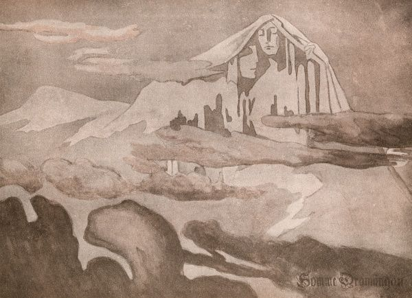 DREAM LANDSCAPE OF ICE AND SNOW Date: 1895