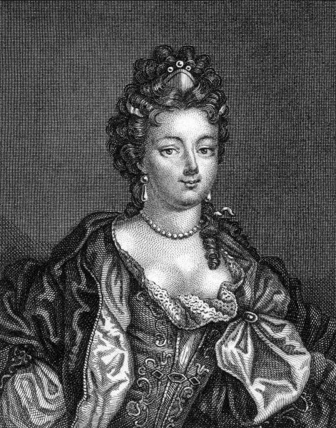 ANNE LOUISE BENEDICTE DE BOURBON-CONDE, duchesse de MAINE wife of Louis Auguste, son of Louis XIV and Mme de Maintenon. Date: 1676 - 1753