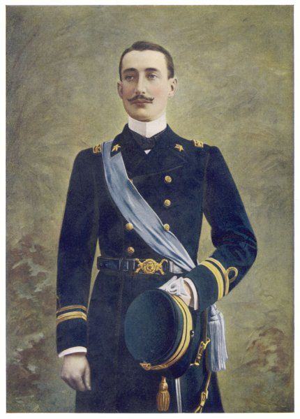 LUIGI AMEDEO, DUKE OF THE ABRUZZI & PRINCE OF SAVOY-AOSTA Italian explorer and naval officer