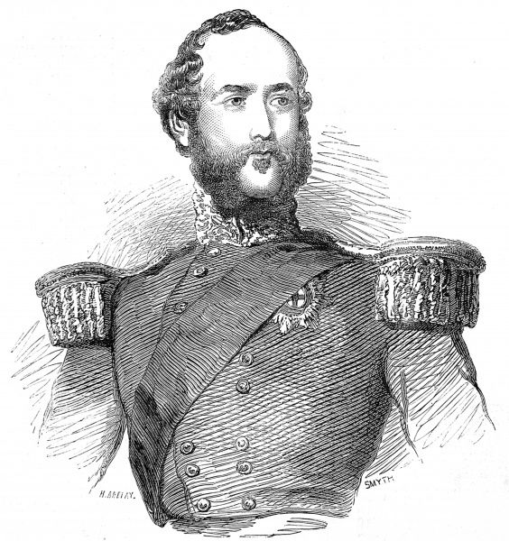 George William Frederick Charles, Duke of Cambridge (1819-1904), cousin of Queen Victoria and Commander-in-Chief of the British Army