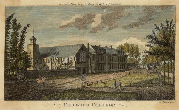 View of a corner of Dulwich College