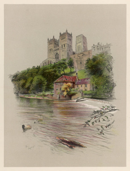 Durham Cathedral, viewed from the river