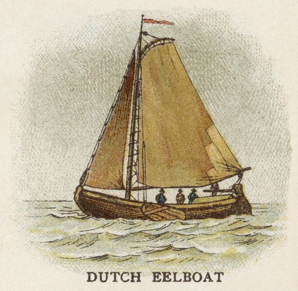 Dutch eelboat