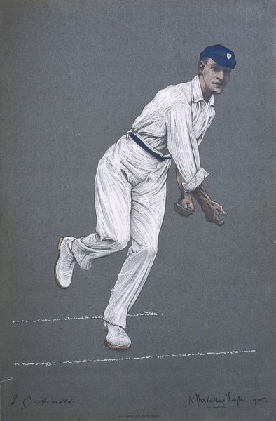 Edward (Ted) G Arnold - Worcestershire and England cricketer