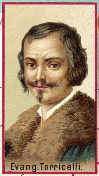EVANGELISTA TORRICELLI Italian mathematician and physicist; he improved the telescope and invented the barometer Date: 1608 - 1647