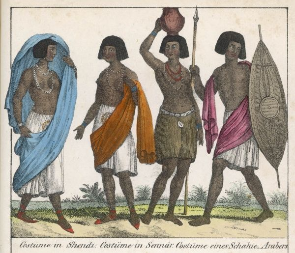East African tribespeople