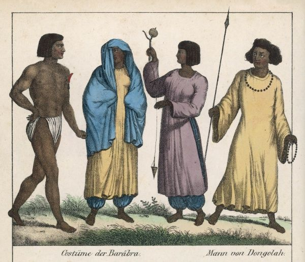 East African tribesfolk