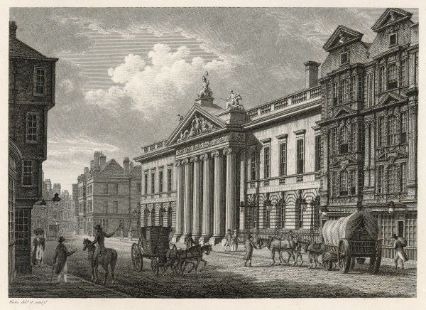 The headquarters of the powerful East India Company, Leadenhall Street : they had a museum here of their various acquisitions, which have now been dispersed to museums