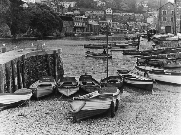The harbour at East Looe, Cornwall