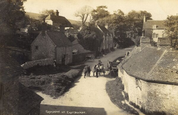 Eastden near Eastbourne, East Sussex - the site of the first cable office in Britain! Date: 1909