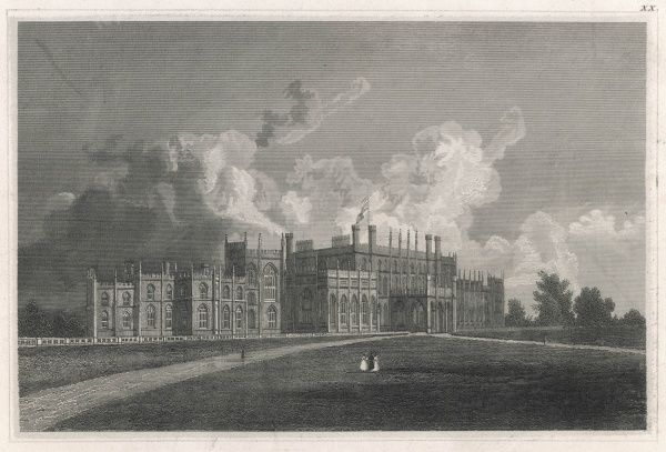 General view of Eaton Hall, Cheshire