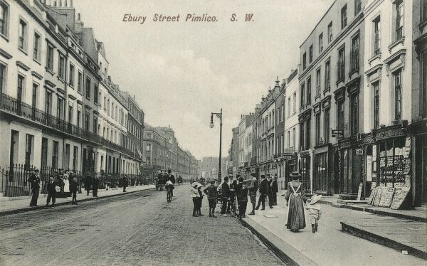 Ebury Street, Pimlico Road, London