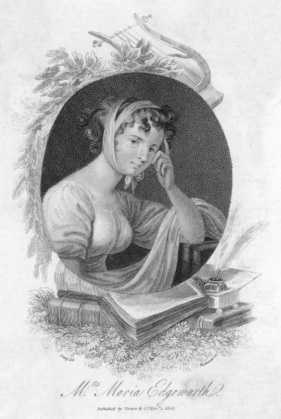 MARIA EDGEWORTH Novelist, best known for 'Castle Rackrent&#39