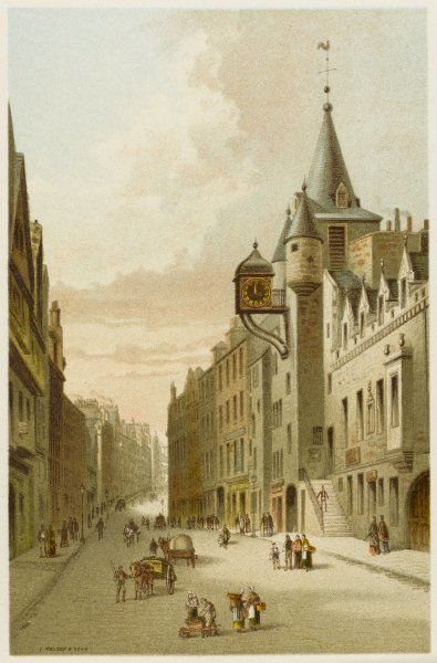Edinburgh: Canongate and Old Tolbooth