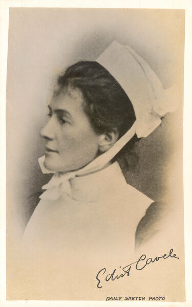 EDITH CAVELL English nurse in Belgium