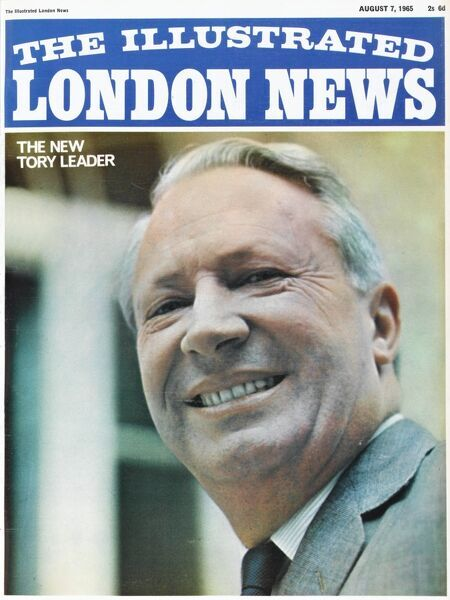 Front cover of the Illustrated London News featuring a picture of Edward (Ted) Heath (1916 - 2005), the new Tory leader and later, British Prime Minister from 1970 to 1974