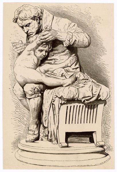 EDWARD JENNER Physician and pioneer of vaccination; depicted inoculating his son