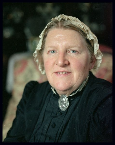Mrs. Jean Davies, the housekeeper of the Edwardian Country House
