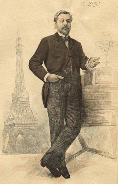Gustave Eiffel French engineer