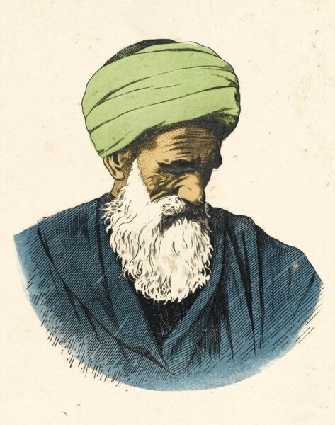 An Elderly Egyptian Muslim Man