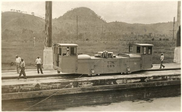 Electric Mule, Panama Canal