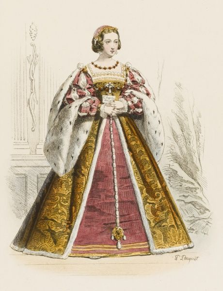 ELEONORE D'AUTRICHE (Eleanor of Austria) second wife of Francois I