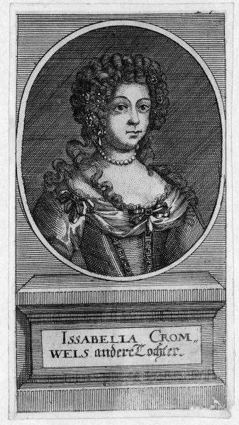 ELIZABETH CROMWELL CLEYPOLE daughter of Oliver Cromwell, later married John Cleypole