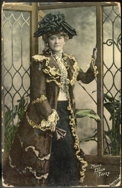 Dame ELLEN ALICE TERRY English actress in costume