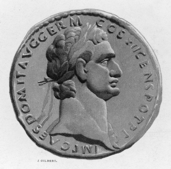 Titus Flavius DOMITIANUS, Roman emperor assassinated