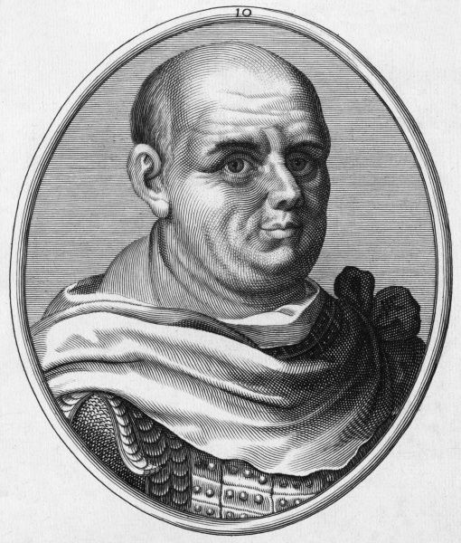 Titus Flavius Sabinus VESPASIANUS Roman Emperor (69 - 79) and founder of the Flavian dynasty Date: 9 - 79