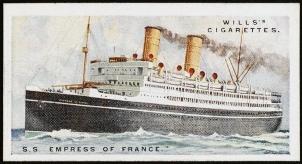 Canadian Pacific liner, sailing between Liverpool and Quebec and doing cruises during the winter